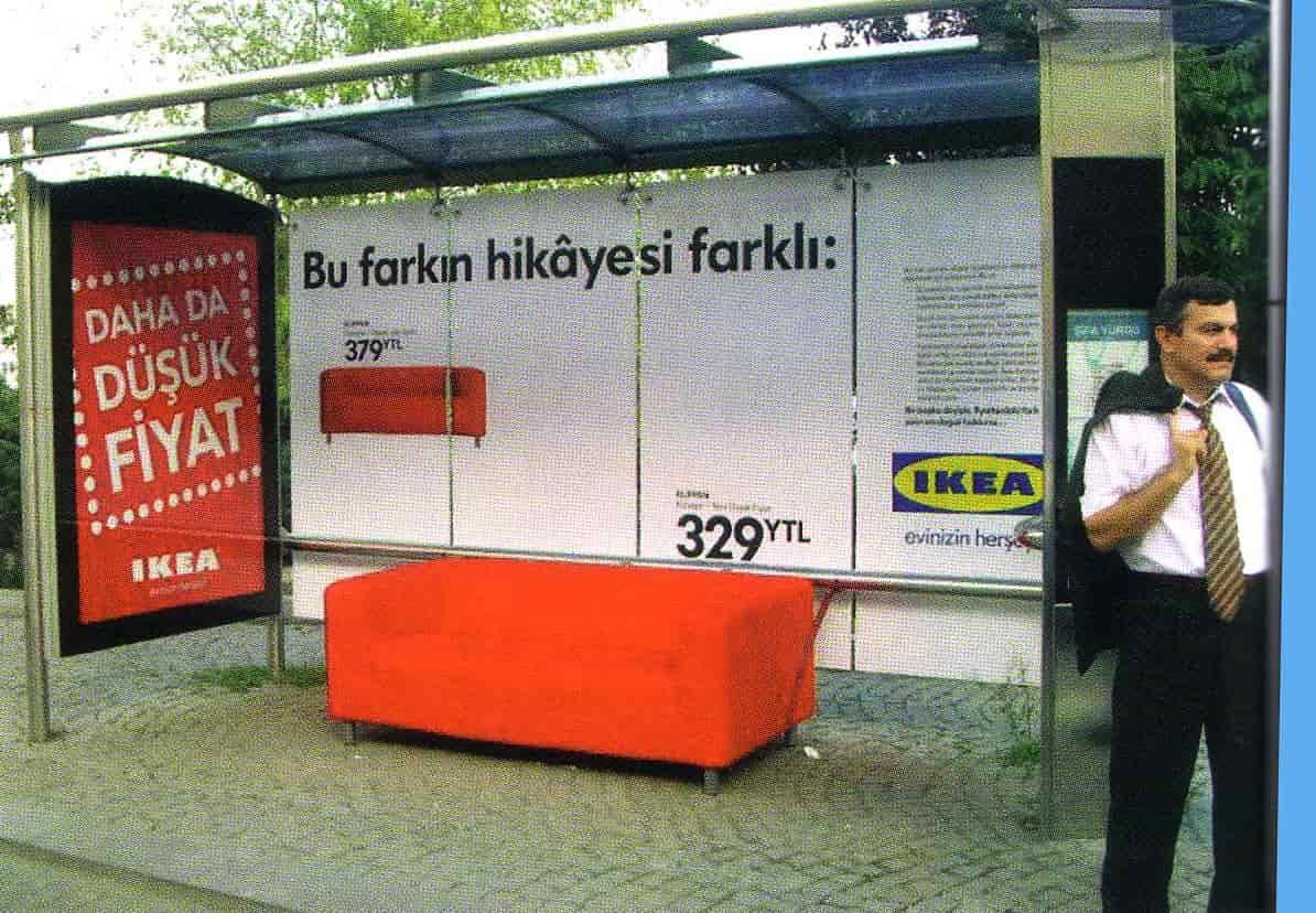 ikea durak reklamı