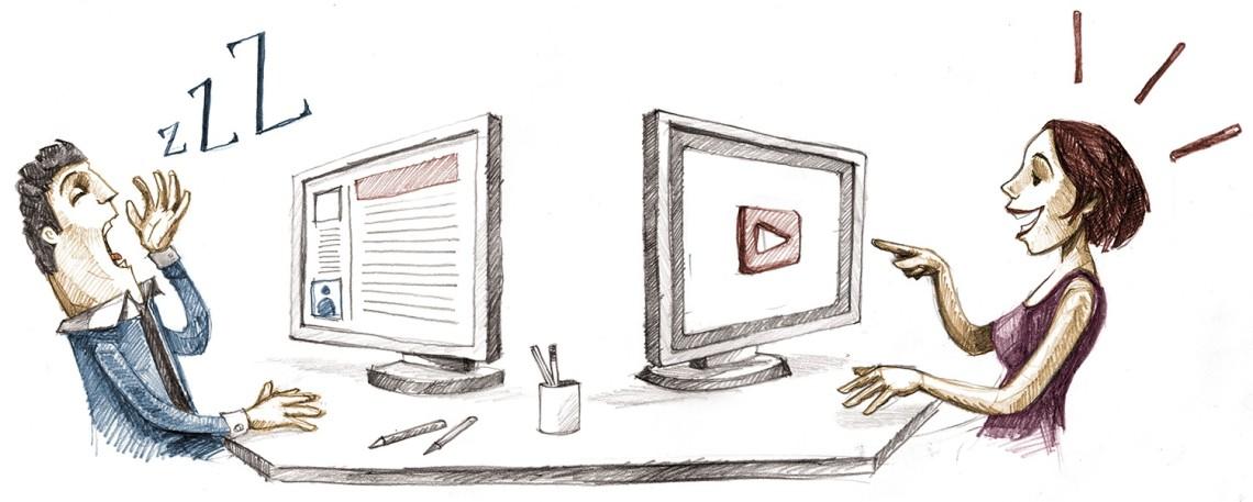 metin vs. video
