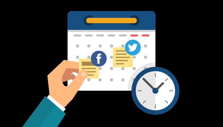 sosyal medya gönderi takvimi