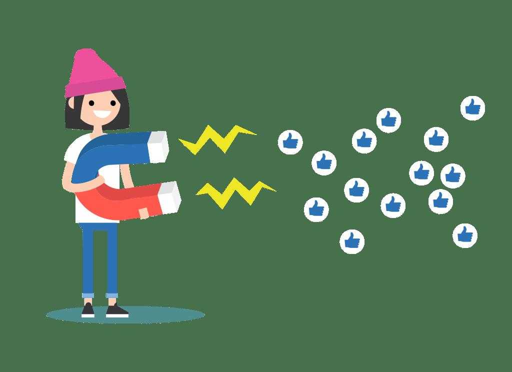 sosyal medya etkileşim